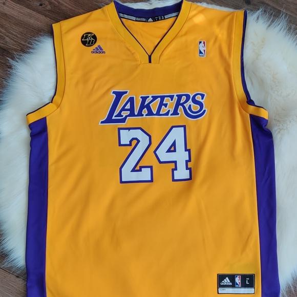 adidas Shirts   Lakers Kobe 24 Jersey Adult L   Poshmark